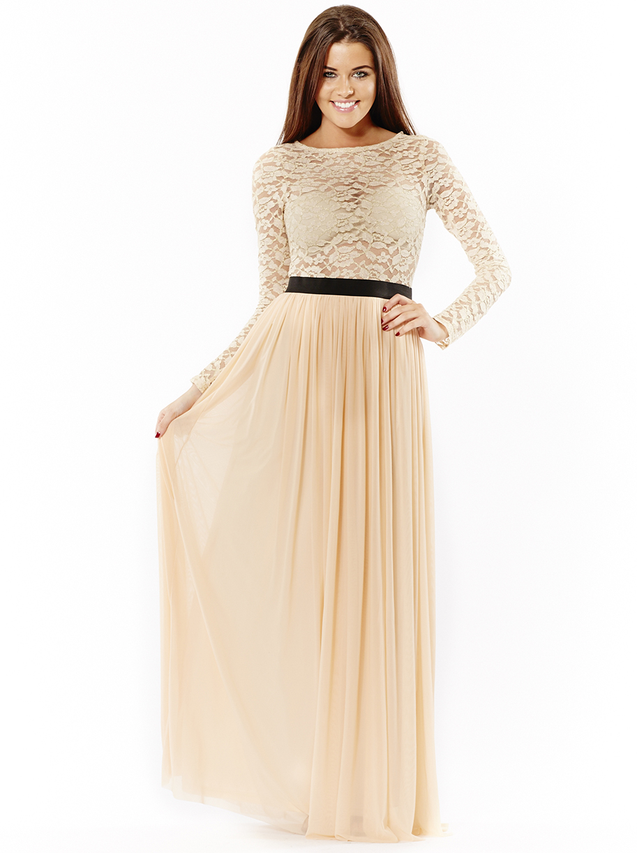 Classic Evening Gowns With Sleeves