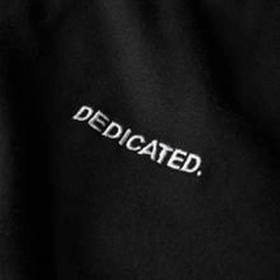 Pánská mikina Dedicated Molmoe černá