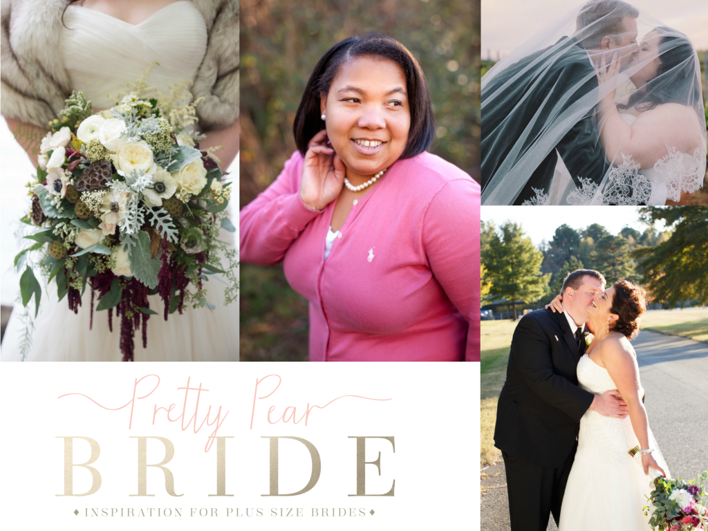 Attention All Curvy Brides! Pretty Pear Bride Has All Your Wedding ...
