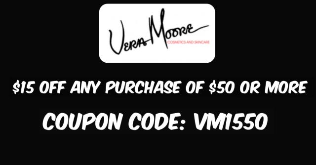 Vera Moore Cosmetics Coupon