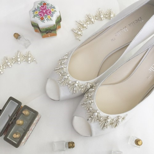Vintage Inspired Wedding Shoes