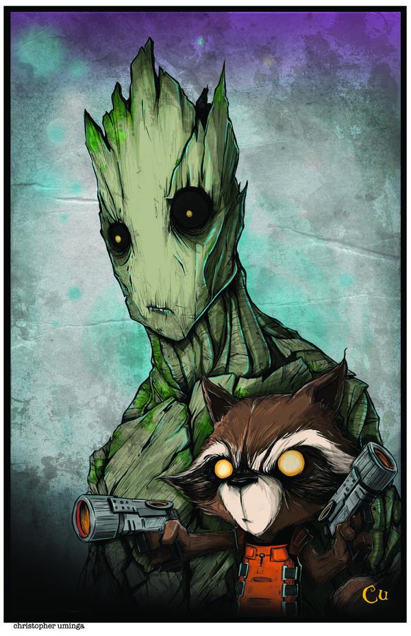 Chris-Groot_20_26_20Rocket-print_original
