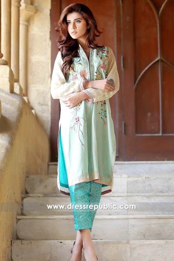 DR14164 - Mint Rustavi Jacket Dress