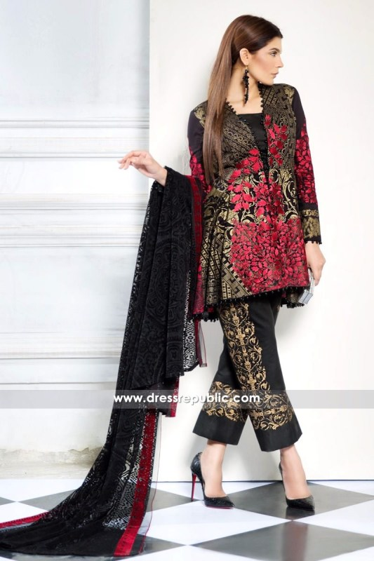 DRP6224 - Sana Safinaz Lawn Collection March 2017