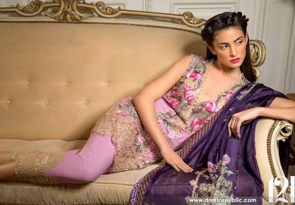 DRP6284 - Sobia Nazir Spring Summer Lawn 2017