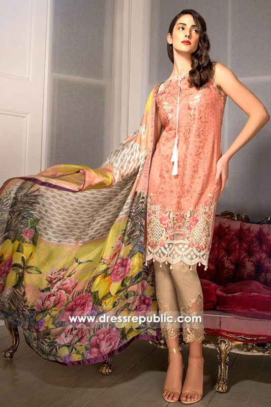 DRP6285 - Sobia Nazir Spring Summer Lawn 2017