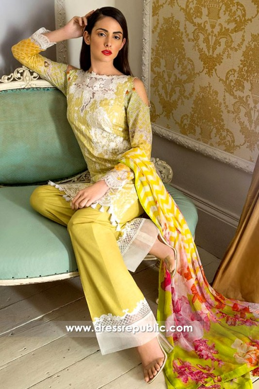 DRP6296 - Buy Pakistani Designer Lawn Suits 2017 at Wholesale Price