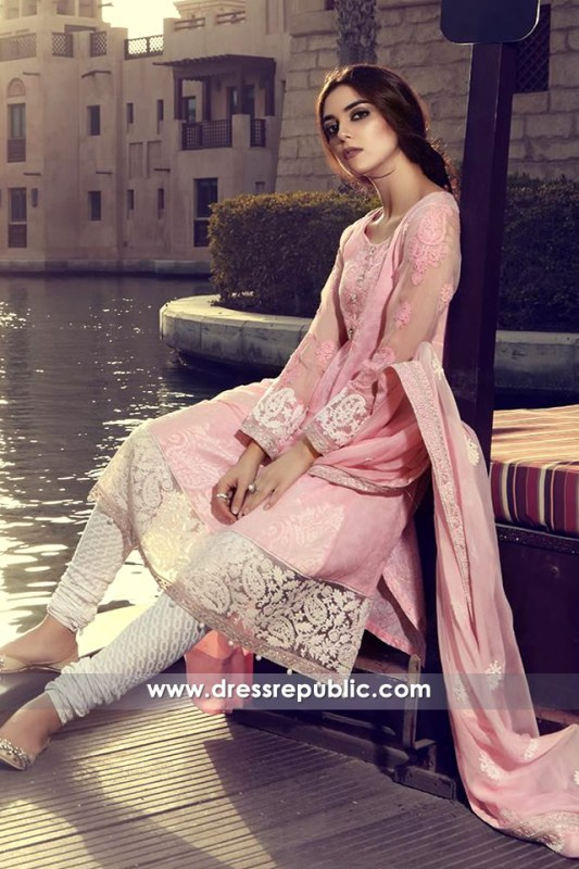 DRP6312 - Pakistani Designer Lawn Suits 2017 Oslo, Norway