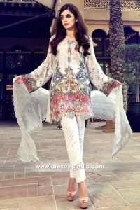 DRP6317 - Maria B Mbroidered Lawn Suits 2017