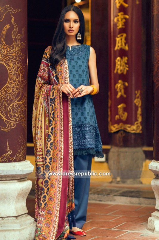 DRP6330 - Zara Shahjahan Lawn 2017 Collection