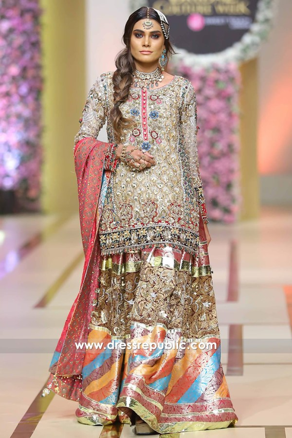 DR14212 - Bridal Couture Week Gharara Styles 2017