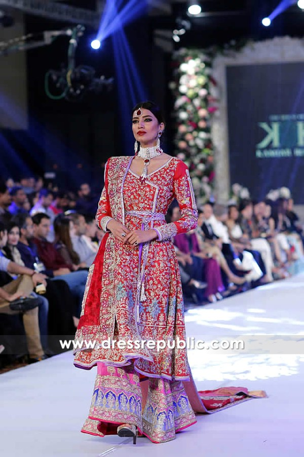 DR14252 - Kamiar Rokni Deep Red Bridal Dress 2017 Online Buy in South Africa