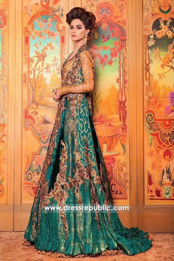 DR14254 - Nilofer Shahid Bridal Dresses 2017 Buy in UK, USA, Canada, Australia