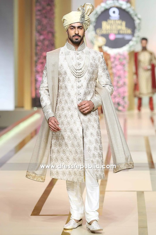 DRM5101 - Groom's Sherwani Style 2017 Collection