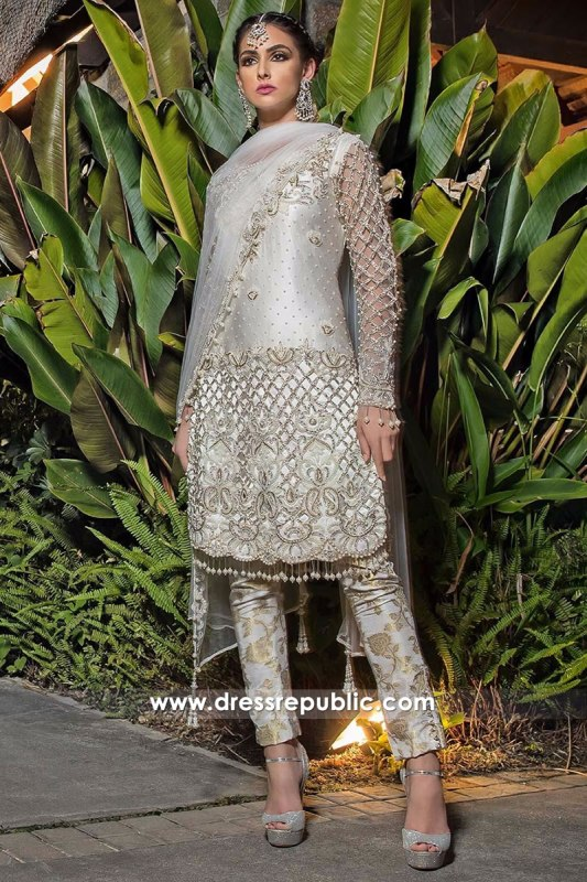 DR14282 - Latest Indian Designer Dress Style 2017 in UK