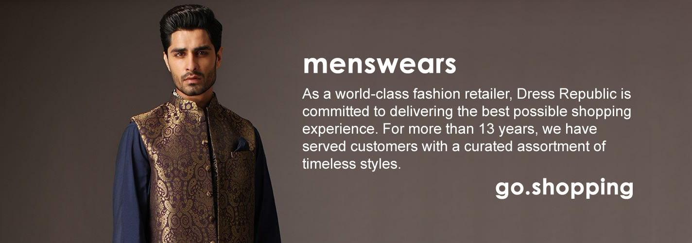 Menswear at Dress Republic