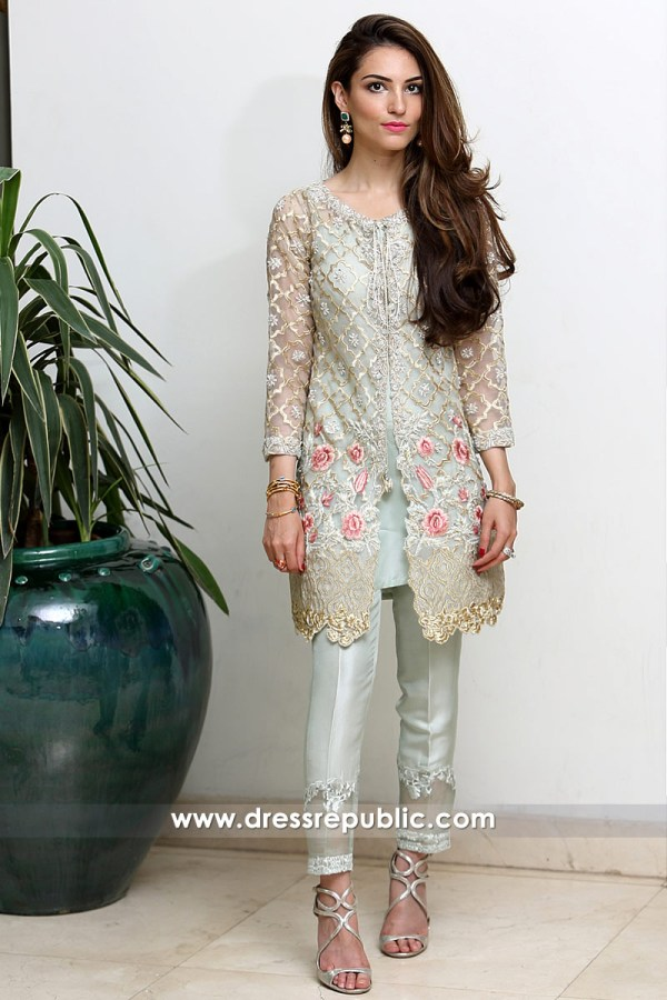 DR14325 - Pakistani Designer Party Wears 2017