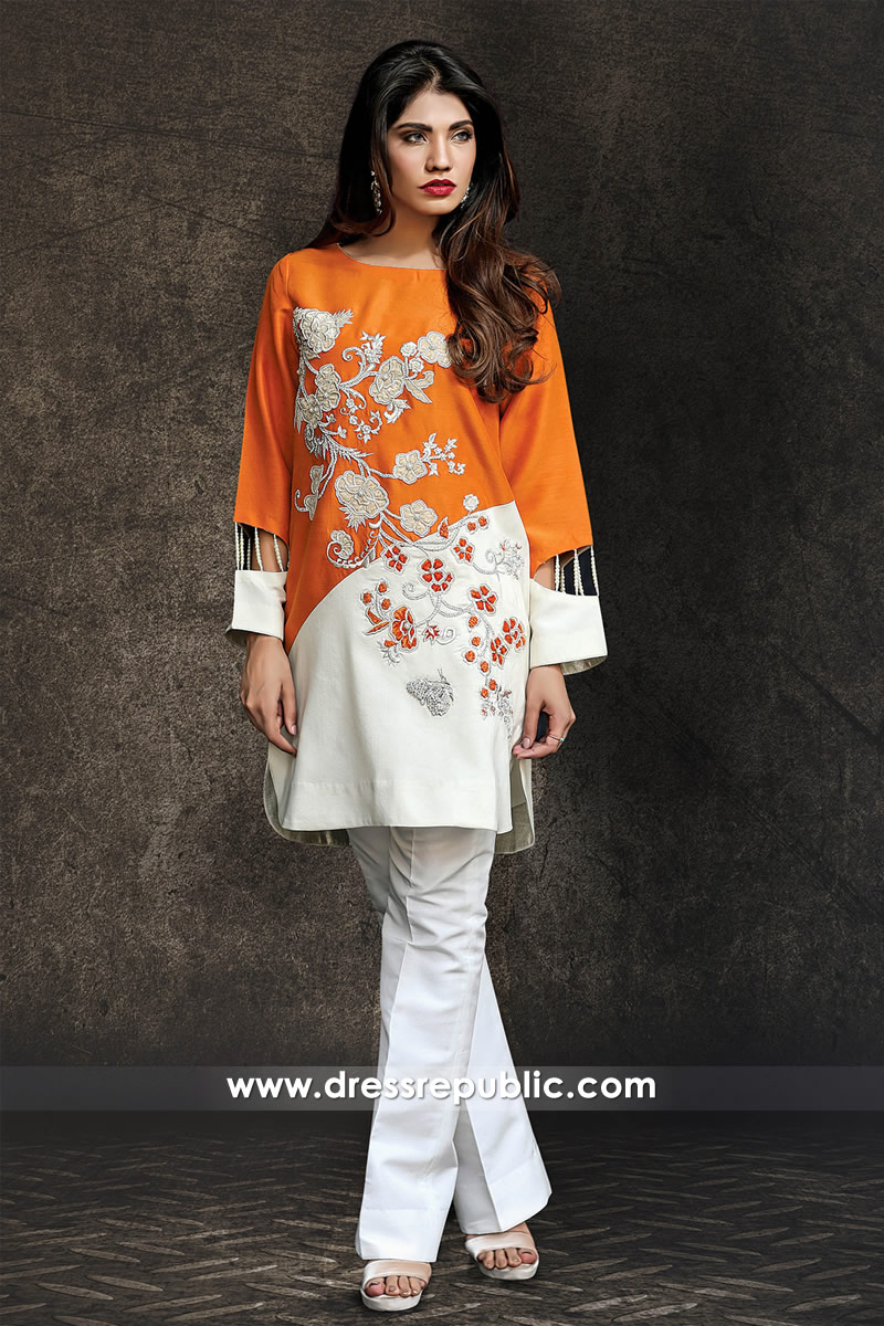 DR14336 - Party Wear Trousers Suit for Diwali 2017 in USA