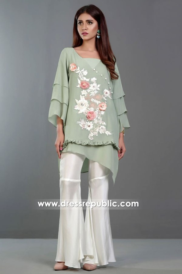 DR14372 - Modern Pakistani Street Style for Casual Day Wear