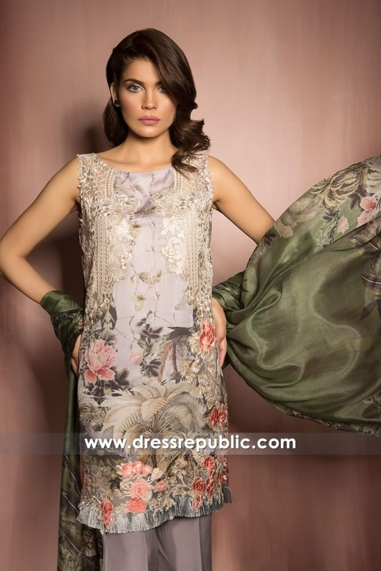 DRP6817 - Design 03 Sobia Nazir Pre Fall Collection 2017 Buy Online in Canada