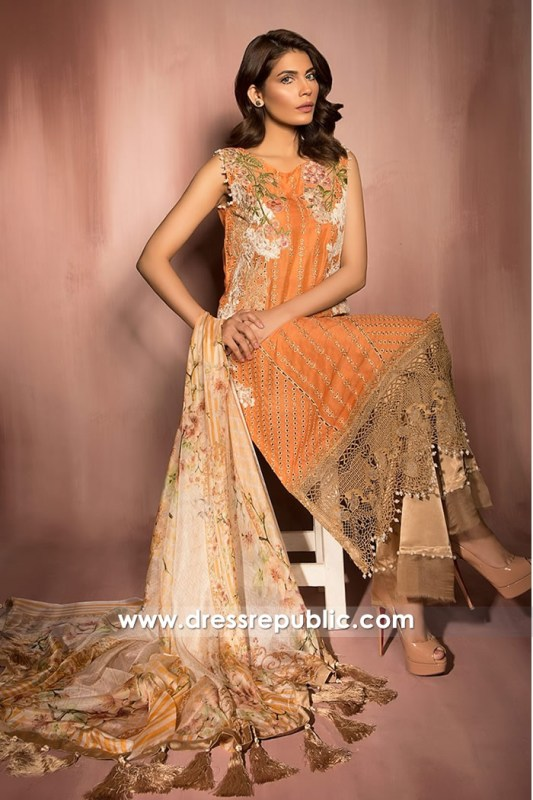 DRP6818 - Design 04 - Sobia Nazir Pre Fall Collection 2017 Buy Online in UAE