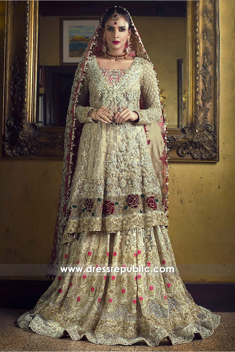 DR14504 - Zainab Chottani Bridal Lehenga 2018 Collection
