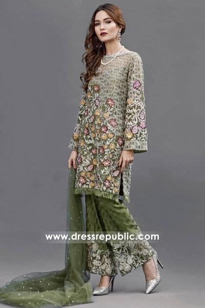DR14518 - Indian Designer Dresses 2018 UK Salwar Kameez