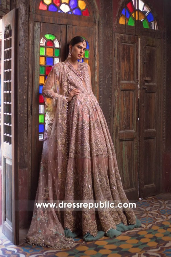 dr14547 Designer Anarkali Dresses 2018 Los Angeles, San Diego, New York