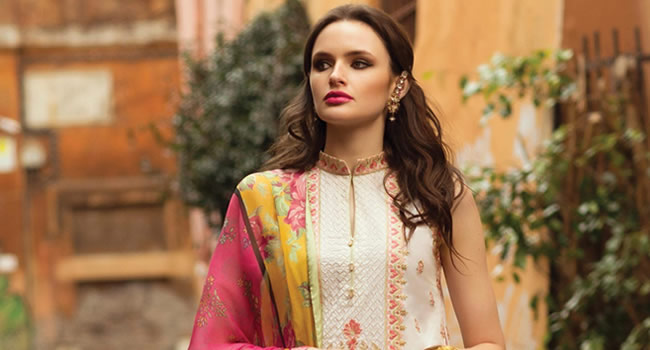 Zara Shahjahan Lawn Collection 2018 Now Available