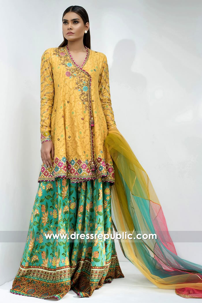 DR14601 Sania Maskatiya Formals 2018 Collection USA, UK, Canada, UAE