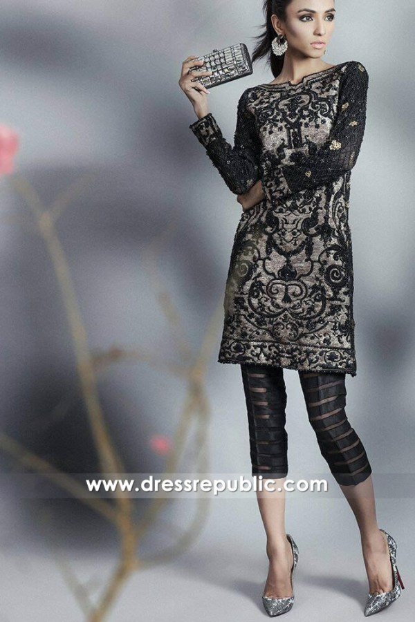 DR14643 Sana Safinaz Party Dresses 2018 USA, UK, Canada, Australia