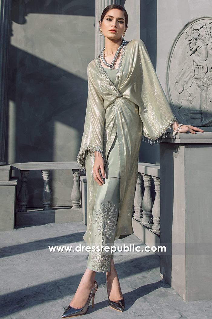 DR14692 Elan Kaftan UK, Buy Online Designer Kaftan Eid 2018 Collection