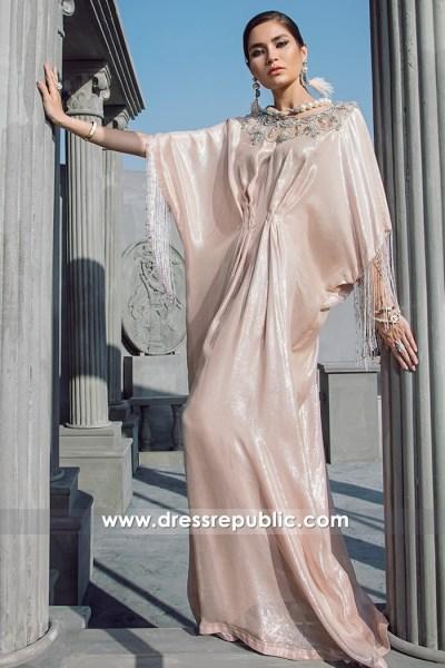 DR14694 Designer Kaftan Jalabiya Eid 2018 UK, USA, Canada, Australia