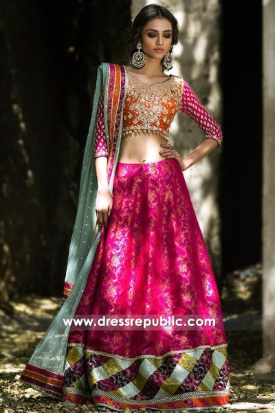 DR14703 Indian Bollywood Dance Lehenga Choli USA, Navratri Lehenga Choli