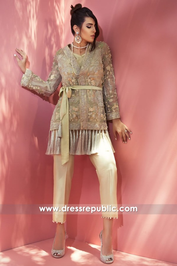 DR14756 Pakistani Designer Wears 2018 UK in London, Manchester, Birmingham