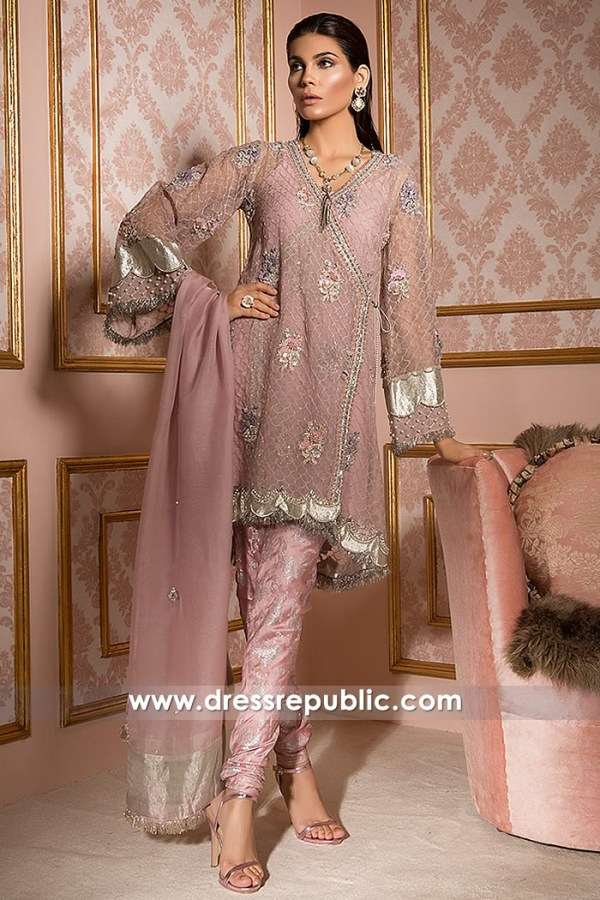 DR14792 Elan Party Wear Dresses 2018 Saudi Arabia, UAE, Kuwait, Qatar, Bahrain