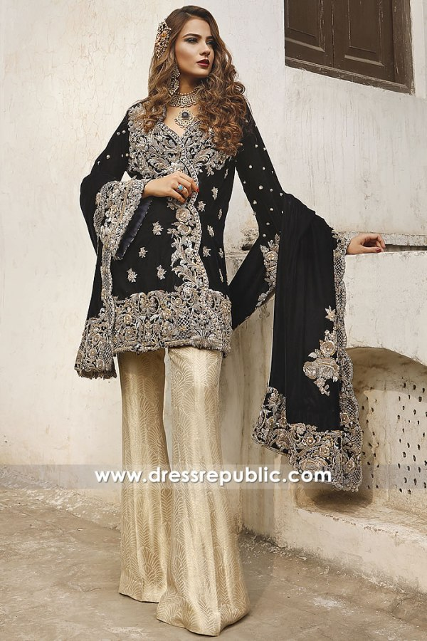 DR14977 Rema and Shehrbano UK Formal Dresses 2018 Collection Online Shop