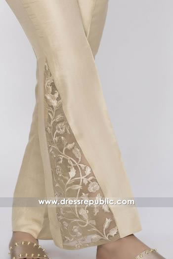 DRL1011 Designer Embroidered Pants Online USA, Canada, UK, Australia, New Zealand