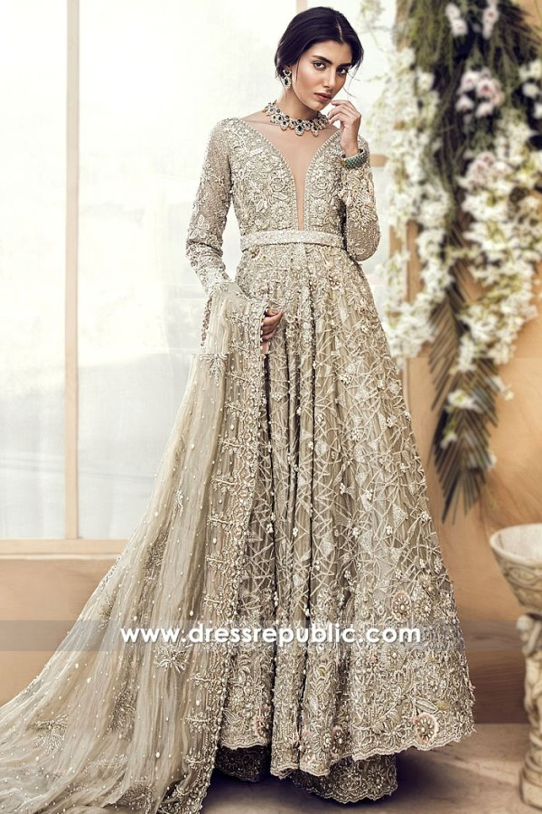 DR14989 Suffuse Pakistani Bridal Dresses Germany, Norway, Holland, Denmark, Sweden
