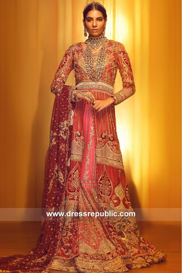 DR15051 Tena Durrani Bridal Lehenga 2018 New York, Chicago, Houston, Dallas