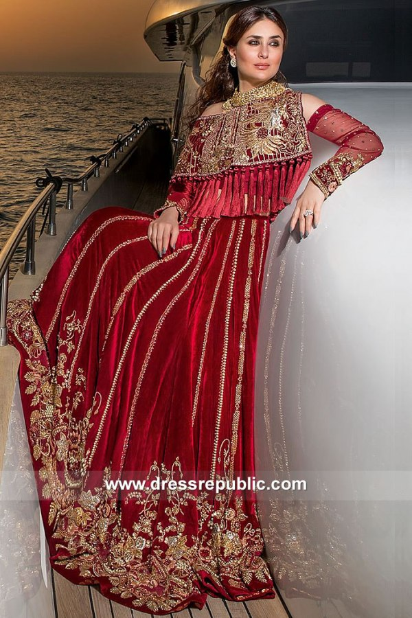 DR15058 Kareena Kapoor Tena Durrani Dress Online USA, Canada, UK, Australia