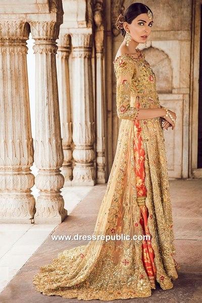 DR15066b Tena Durrani Bridals 2018 London, Manchester, Birmingham, UK