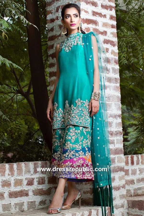 DR15106 Wedding Guest Pakistani Dresses USA Online Shopping 2018 Collection