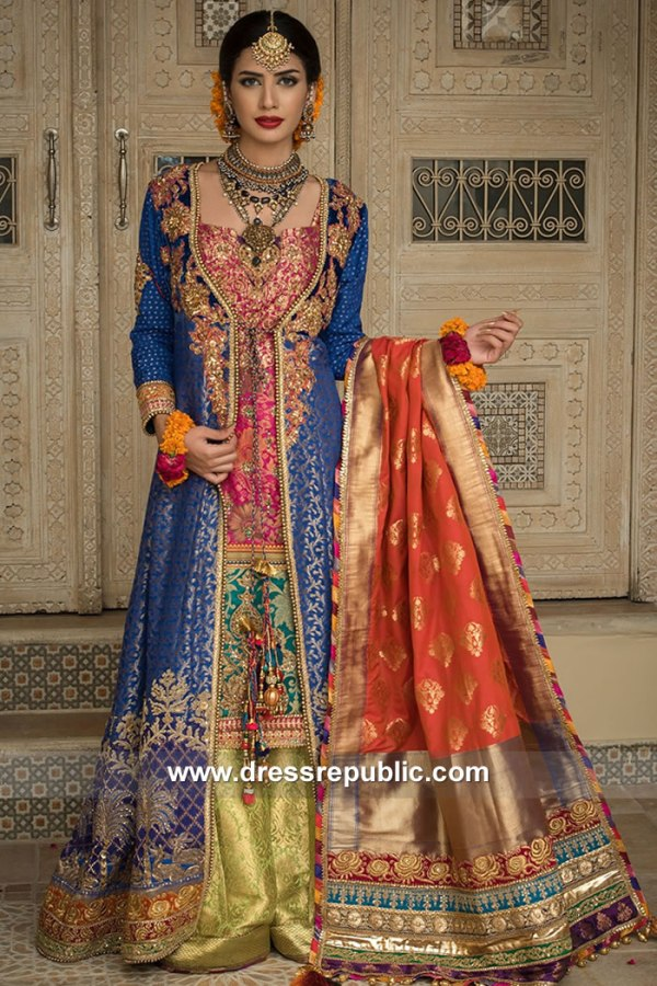 DR15123 Mehndi Bridal for Desi Bride Online California, Texas, New York, Florida