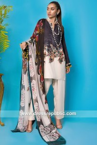 DRP7905 Sana Safinaz Winter Collection 2018 Jacksonville, San Francisco, Denver