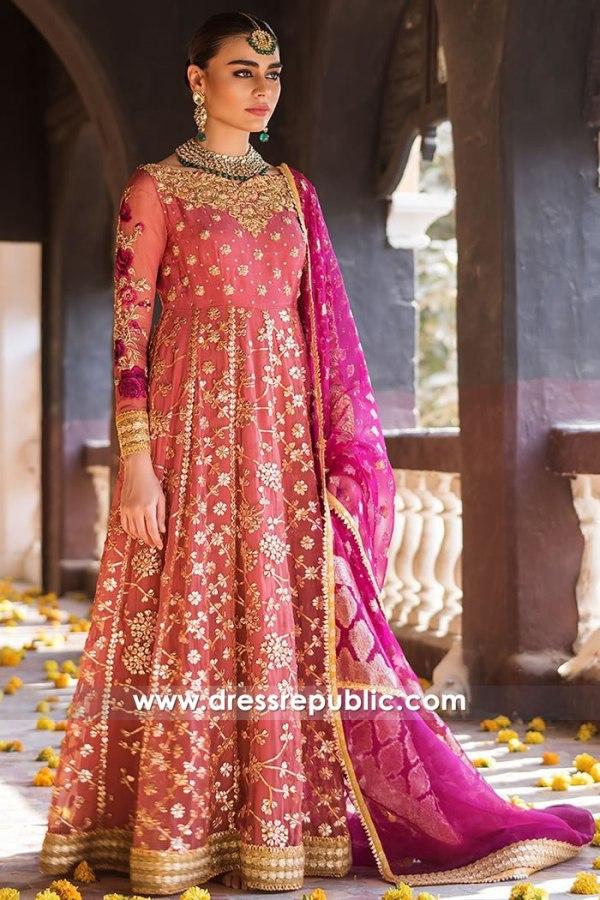 DR15226 Zainab Chottani Anarkali Dresses 2019 UK, USA, Canada, Australia