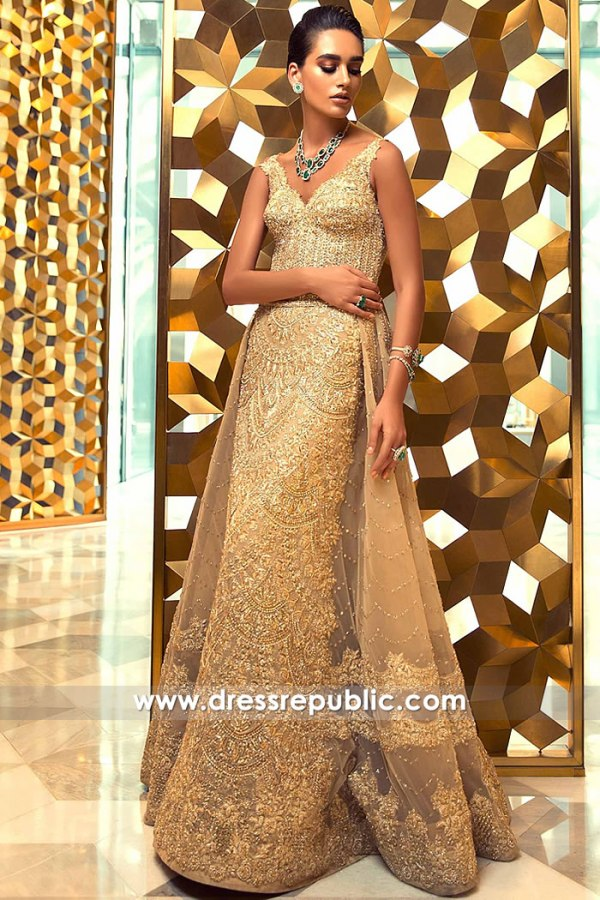 DR15238 Faraz Manan Formal Wear 2019 USA, Los Angeles, New York, Chicago