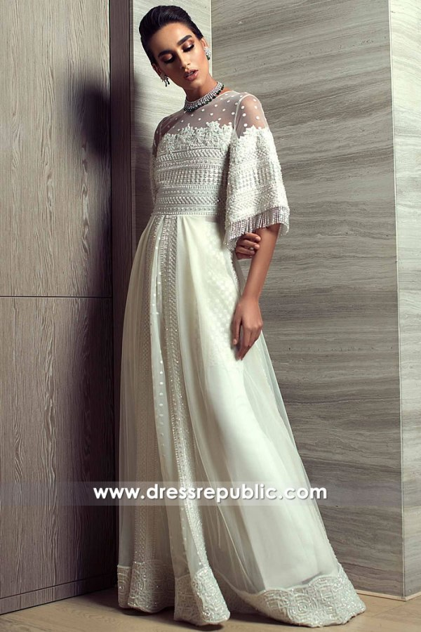DR15240 Pakistani Designer Dresses Bradford, UK Buy 2019 Collection Online