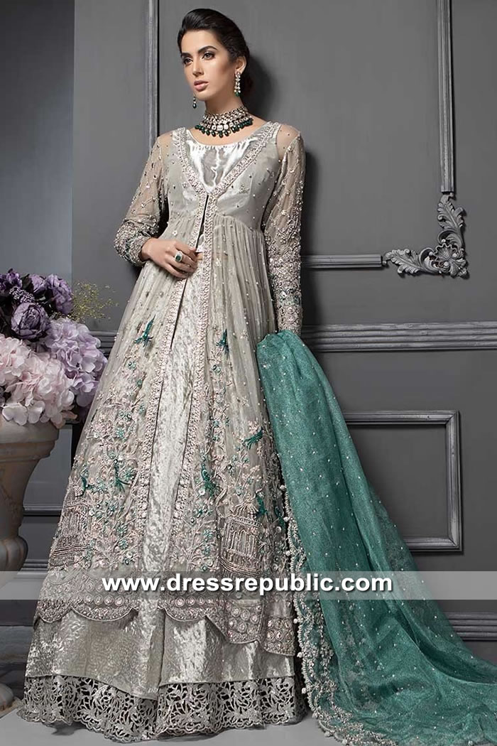 DR15340 Maria B Wedding Lehenga 2019 Texas, Michigan, Ohio, Florida, Virginia