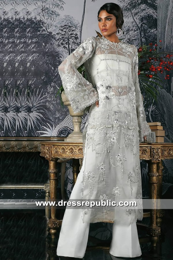 DR15362 Sana Safinaz Party Wear 2019 Saudi Arabia, UAE, Qatar, Kuwait, Bahrain